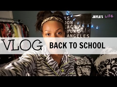 VLOG: BACK TO SCHOOL + Being a resident Assistant #3