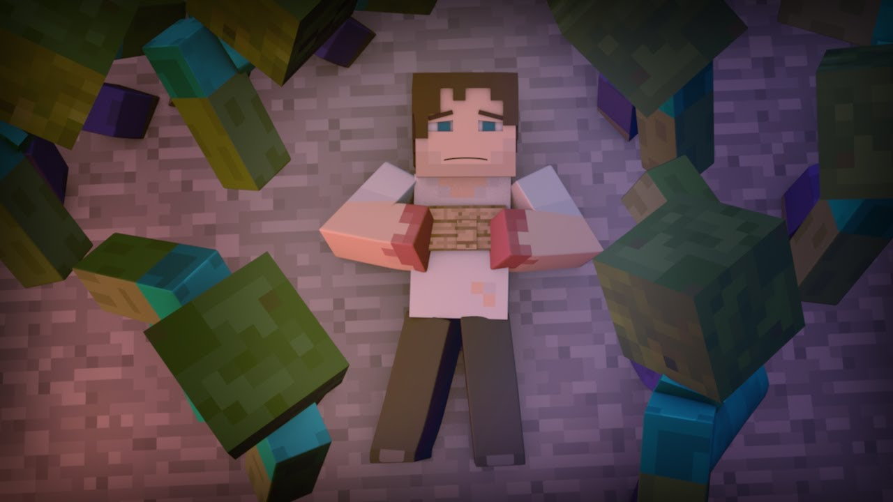 """""""Running Out of Time"""" A Minecraft Song Parody of """"Say Something"""""""
