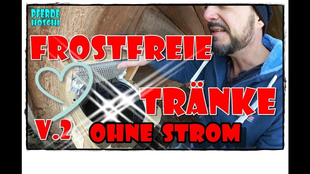 frostfreie pferde tränke v2   pferde hoschi - youtube