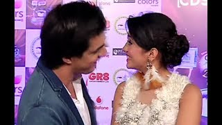 Shivangi Joshi And Mohsin Khan Interview 2017 At ITA Awards 2017