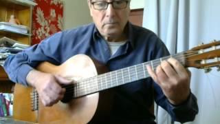 Jamaica Farewell - for solo guitar