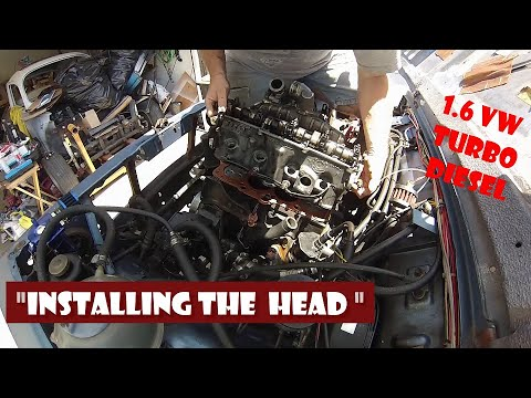 "Suzuki Samurai Diesel Repair ""Installing The Head"""