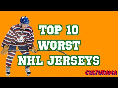 Top 10 Worst NHL Jerseys: Watch the most UGLY Sports Uniforms in Hockey!