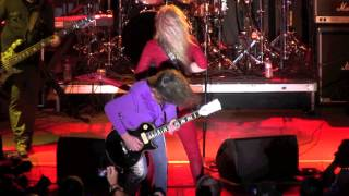 "007 Lita Ford ""Back to the Cave"" 3-19-2013 Monsters of Rock Cruise"