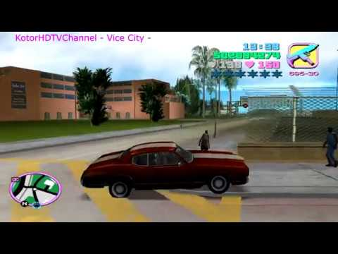GTA Vice City 100% PC Walkthrough part 32 - Sunshine Autos Asset