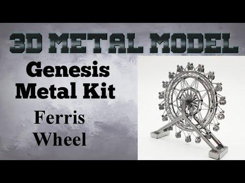 Genesis Metal Model Build - Ferris Wheel