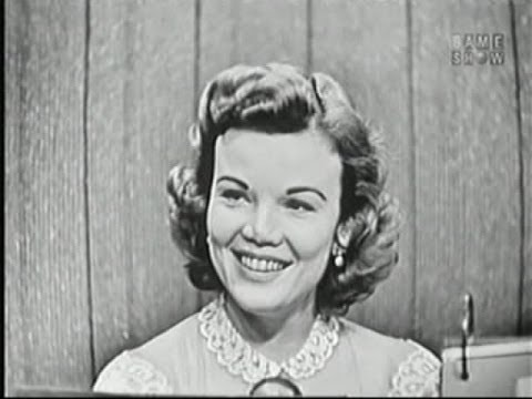 What's My Line?  James Kilgallen Dorothy's father!; Nanette Fabray Nov 18, 1956