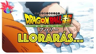 LLORARÁS al comienzo de Dragon Ball Super Broly: Vegeta, ¿protagonista?