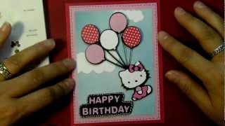 Cricut happy birthday hello kitty balloon card hello kitty cricut happy birthday hello kitty balloon card hello kitty greetings cartridge m4hsunfo