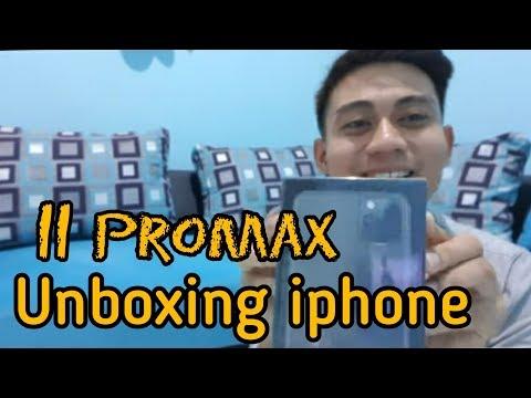 Unboxing Iphone 11 Promax Dual Sim