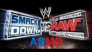 ASMR - WWE Smackdown! vs Raw (2004)  - Whispered Gameplay - RVD - Slobber Knocker