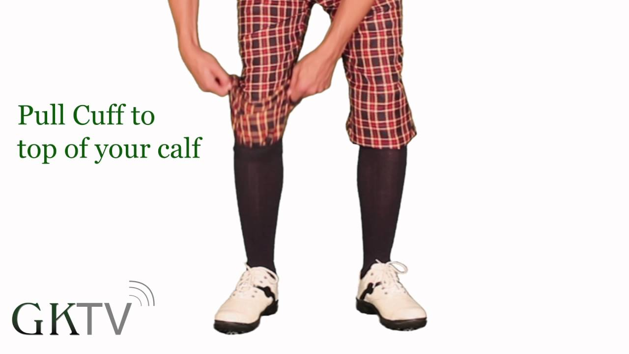 How To Wear Your Limited Plaid Golf Knickers