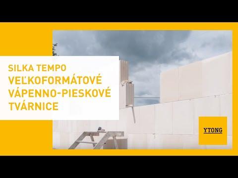 Silka Tempo | Veľkoformátové Vápenno-pieskové Tvárnice