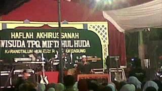 Pengajian KH Anwar Zahid Terbaru 2015 Wisuda Santri MTQ Di Karangtalun