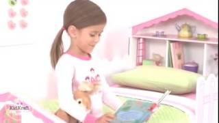 Girls Dollhouse Toddler Bed By Kidkraft Model 76255