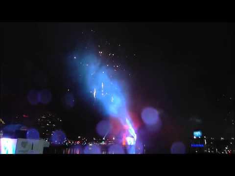 Sydney Darling Harbour Fireworks - Australia Day 2015