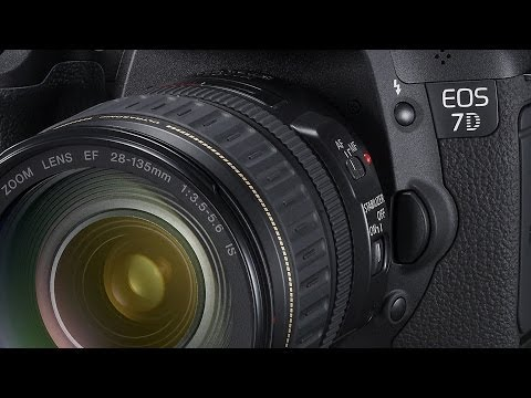 Canon EOS 7D Setup for Bracketing And HDR Fast And Easy