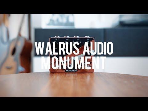 Walrus Audio Monument Harmonic Tap Tremolo (demo)