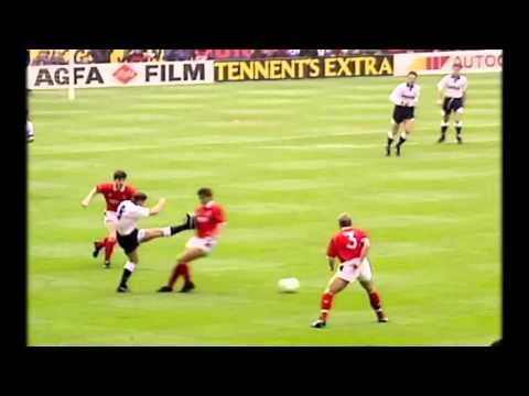 Gascoigne tackles vs Nottingham Forest 1991