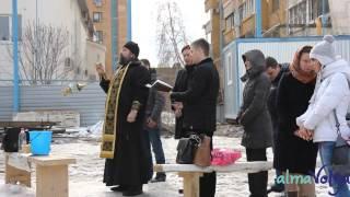 В Волгограде освятили строительство административно-гостиничного комплекса