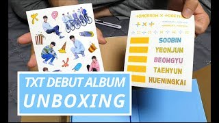 TXT The Dream Chapter: Star Debut Album UNBOXING