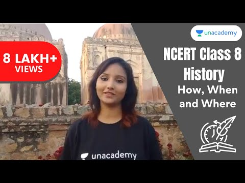 NCERT Class 8 History Chapter 1 - How, When and Where in Hindi
