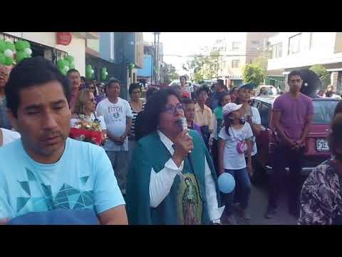 12.10.17 - Procesion Virgen de Guadalupe Balconcillo 2017 Lima Peru - (12/12)