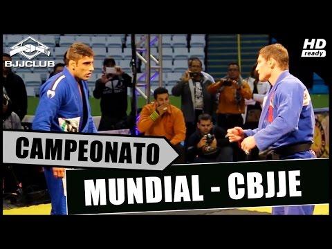 Jiu-Jitsu - Leandro Lo vs Cláudio Calasans - Mundial 2014 - CBJJE (Luta Final Absoluto)