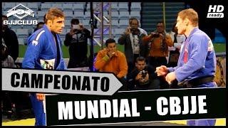 Jiu Jitsu Leandro Lo vs Cláudio Calasans Mundial 2014 CBJJE Luta Final Absoluto