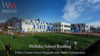 Modular Charter School Quickly Assembles Like Building Blocks