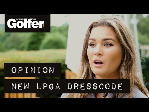 Players give their views on the LPGA dresscode