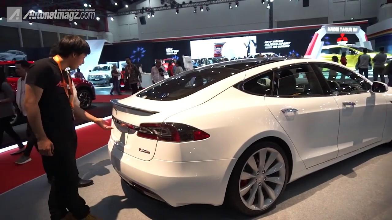 Mobil Listrik Tesla Model S P100d Indonesia Youtube