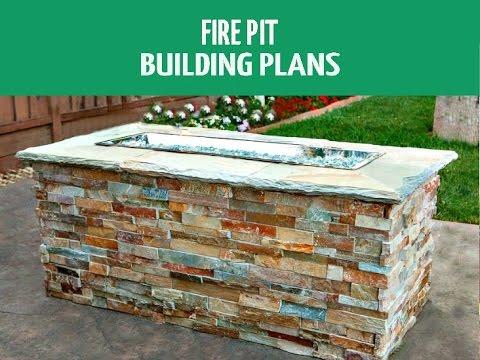 Diy Fire Pit Building Plans You