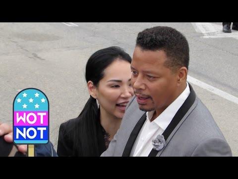 Terrence Howard & New Wife Miranda Pak Make  Laugh at the Spirit Awards