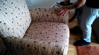 Upholstery Cleaning Chair