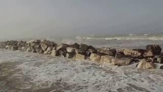 Fermo, marea sul mare di Marina Palmense