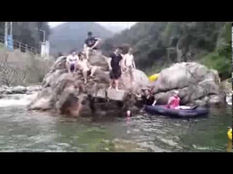 계곡 다이빙의 위험성