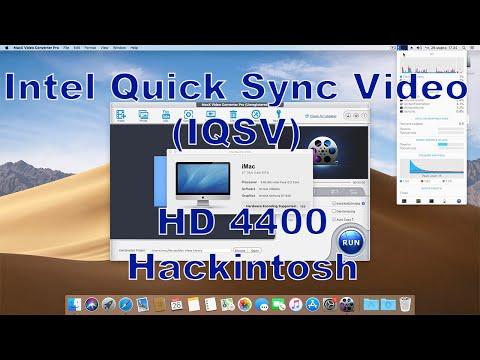 Включаем Intel Quick Sync Video (IQSV) в Хакинтош – HD 4400