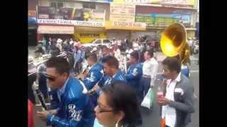 Banda La Reyna De Huajuapan En Cierre De Carnaval Santa Maria Aztahuacan.