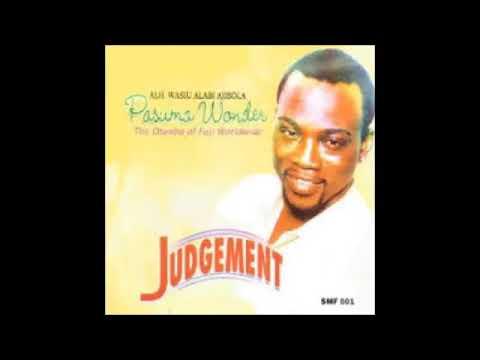 Download Wasiu Alabi Pasuma    Judgement Audio