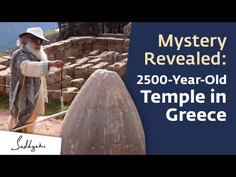 Delphi, Greece, A Temple Built by Yogis | Sadhguru