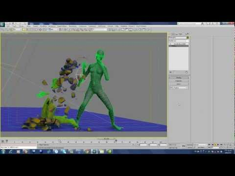 Procedural character demolition with volumeBreaker and TP RnD 02