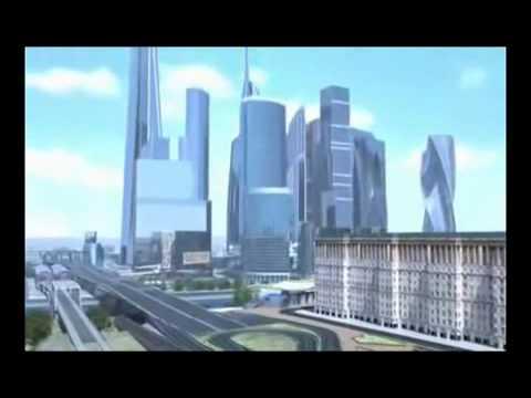 Москва - Сити 3D обзор | Moscow City 3D review
