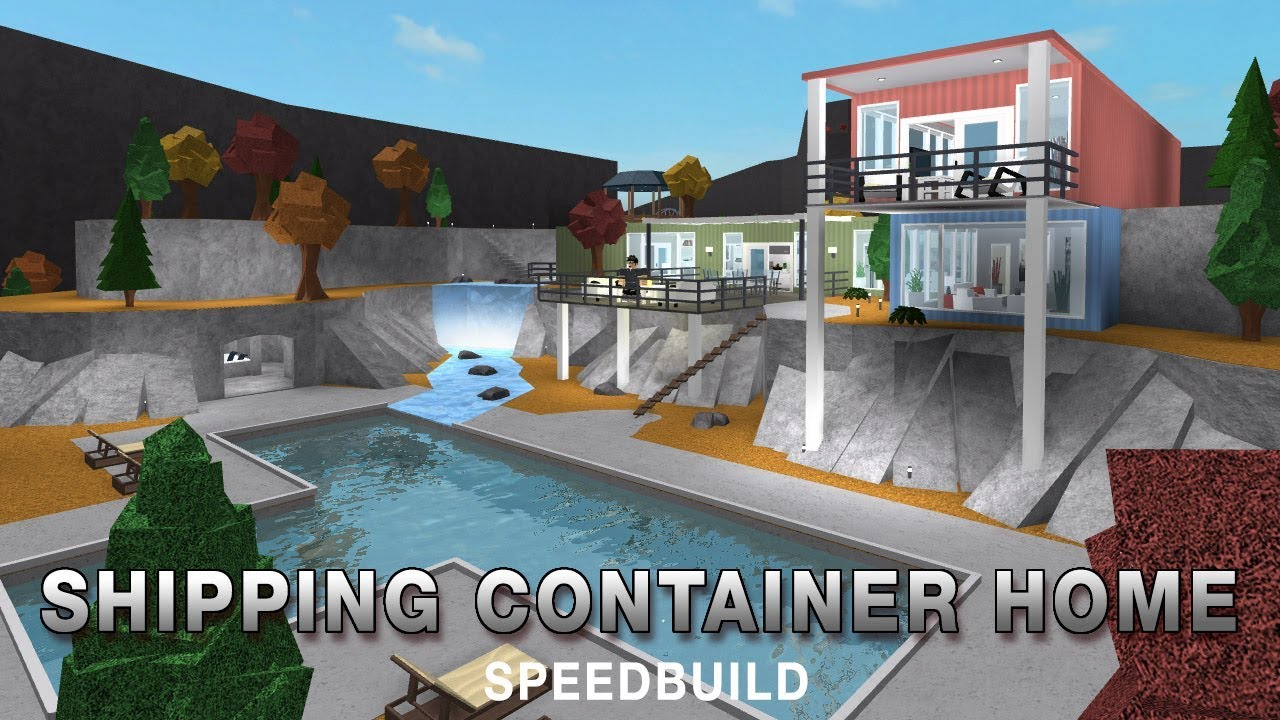 Best Kitchen Gallery: Roblox Bloxburg Shipping Container House Youtube of Hillside Shipping Container Homes on rachelxblog.com