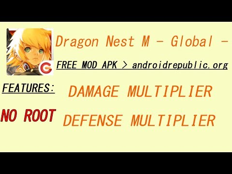 Dragon Nest M Global DAMAGE & DEFENSE FREE MOD APK