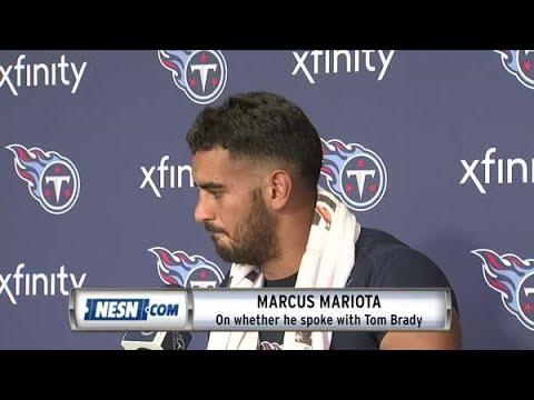Marcus Mariota On Tom Brady, Patriots Defense