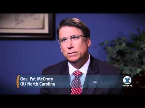 Gov. Pat McCrory on the North Carolina Comeback