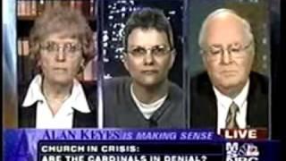 MSNBC - Alan Keyes is Making Sense - Church in Crisis - April 23, 2002