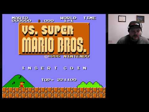 Arcade Archives - VS Super Mario Bros | VGHI Play 'n' Chat Live Stream