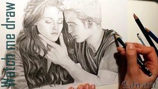 WATCH ME DRAW 12  - Robert Pattinson as Edward Cullen #2 [twilight]